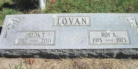 LOVAN, FREDA - Howell County, Missouri | FREDA LOVAN - Missouri Gravestone Photos