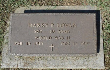 LOVAN, HARRY R. VETERAN WWII - Howell County, Missouri | HARRY R. VETERAN WWII LOVAN - Missouri Gravestone Photos