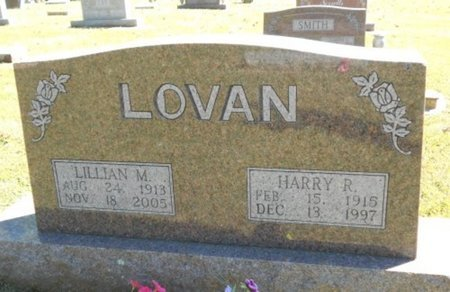 LOVAN, LILLIAN M. - Howell County, Missouri | LILLIAN M. LOVAN - Missouri Gravestone Photos