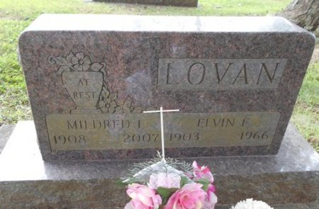 LOVAN, MILDRED LOIS - Howell County, Missouri | MILDRED LOIS LOVAN - Missouri Gravestone Photos