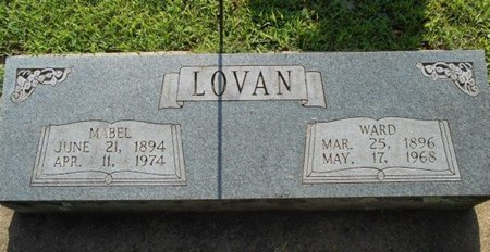 LOVAN, MABEL - Howell County, Missouri | MABEL LOVAN - Missouri Gravestone Photos