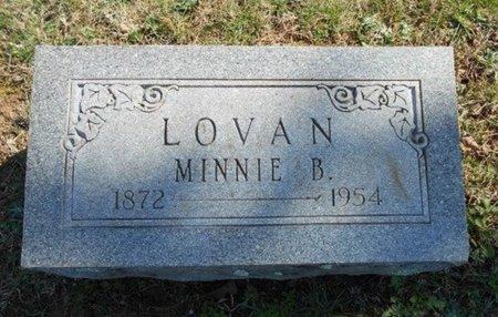 LOVAN, MINNIE BELLE - Howell County, Missouri | MINNIE BELLE LOVAN - Missouri Gravestone Photos