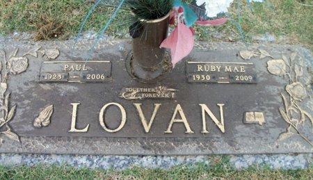 LOVAN, RUBY MAE - Howell County, Missouri | RUBY MAE LOVAN - Missouri Gravestone Photos
