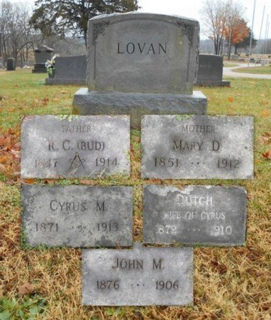 LOVAN, DUTCH - Howell County, Missouri | DUTCH LOVAN - Missouri Gravestone Photos