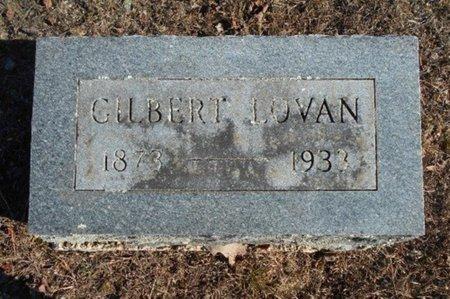LOVAN, WILLIAM GILBERT - Howell County, Missouri | WILLIAM GILBERT LOVAN - Missouri Gravestone Photos