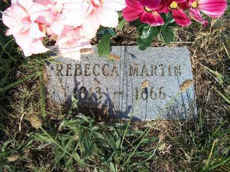 MARTIN, REBECCA - Howell County, Missouri   REBECCA MARTIN - Missouri Gravestone Photos