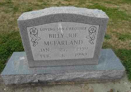 MCFARLAND, BILLY JOE - Howell County, Missouri | BILLY JOE MCFARLAND - Missouri Gravestone Photos