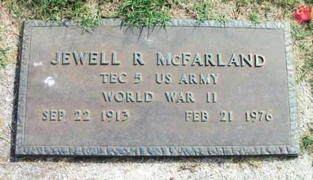 MCFARLAND, JEWELL R. VETERAN WWII - Howell County, Missouri   JEWELL R. VETERAN WWII MCFARLAND - Missouri Gravestone Photos