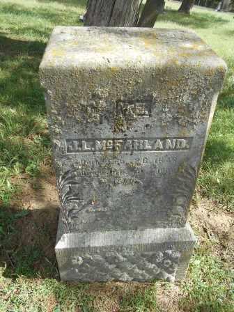 MCFARLAND, M.E. - Howell County, Missouri | M.E. MCFARLAND - Missouri Gravestone Photos