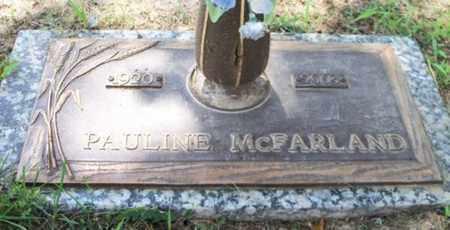MCFARLAND, PAULINE - Howell County, Missouri | PAULINE MCFARLAND - Missouri Gravestone Photos