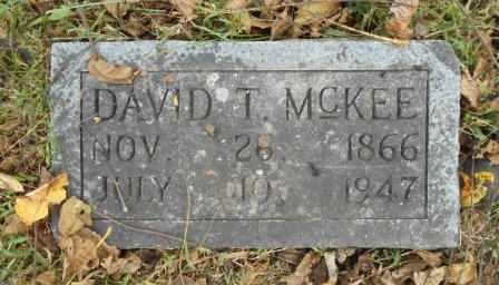 MCKEE, DAVID T. - Howell County, Missouri | DAVID T. MCKEE - Missouri Gravestone Photos