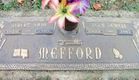 MEFFORD, VERA - Howell County, Missouri | VERA MEFFORD - Missouri Gravestone Photos