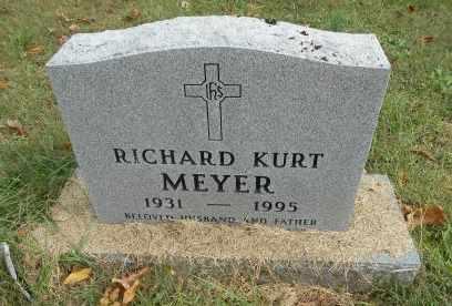 MEYER, RICHARD KURT - Howell County, Missouri | RICHARD KURT MEYER - Missouri Gravestone Photos