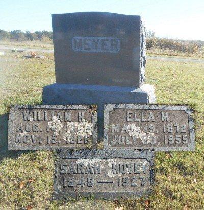 MEYER, ELLA M. - Howell County, Missouri | ELLA M. MEYER - Missouri Gravestone Photos