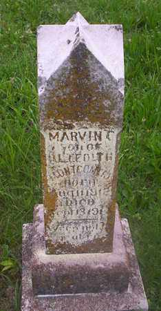 MONTGOMERY, MARVIN CECIL - Howell County, Missouri | MARVIN CECIL MONTGOMERY - Missouri Gravestone Photos