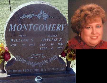MONTGOMERY, PHYLLIS - Howell County, Missouri   PHYLLIS MONTGOMERY - Missouri Gravestone Photos