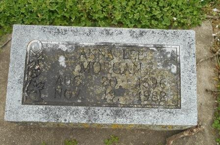 MORGAN, ANNA LEE - Howell County, Missouri | ANNA LEE MORGAN - Missouri Gravestone Photos