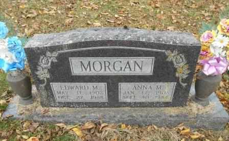 MILLER MORGAN, ANNA M. - Howell County, Missouri | ANNA M. MILLER MORGAN - Missouri Gravestone Photos