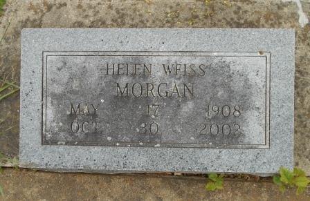 "MORGAN, HELENIA HENRIETTA ""HELEN"" - Howell County, Missouri | HELENIA HENRIETTA ""HELEN"" MORGAN - Missouri Gravestone Photos"