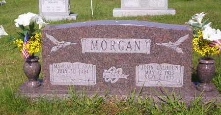 MORGAN, JOHN CALLAHAN - Howell County, Missouri | JOHN CALLAHAN MORGAN - Missouri Gravestone Photos