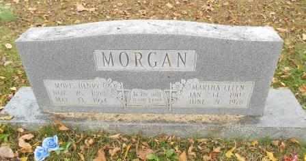 MORGAN, MARTHA ELLEN - Howell County, Missouri | MARTHA ELLEN MORGAN - Missouri Gravestone Photos
