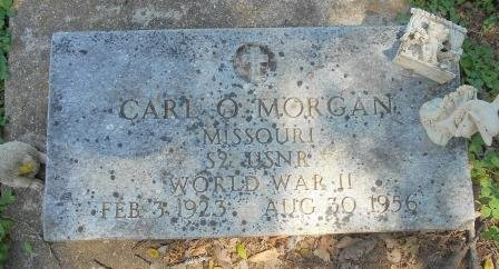 MORGAN, CARL O. VETERAN WWII - Howell County, Missouri | CARL O. VETERAN WWII MORGAN - Missouri Gravestone Photos