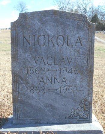 "NICKOLA, VENCLESLAUS ""VACLAV"" - Howell County, Missouri | VENCLESLAUS ""VACLAV"" NICKOLA - Missouri Gravestone Photos"