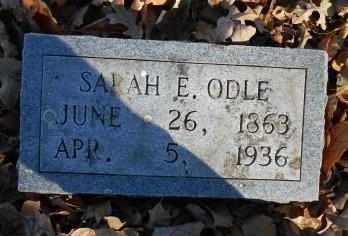 ODLE, SARAH E. - Howell County, Missouri | SARAH E. ODLE - Missouri Gravestone Photos