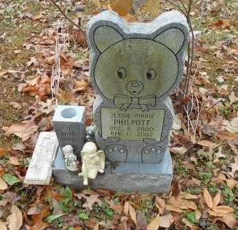 PHILPOTT, JESSIE MARIE - Howell County, Missouri | JESSIE MARIE PHILPOTT - Missouri Gravestone Photos