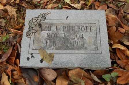 PHILPOTT, LEO ELMER - Howell County, Missouri | LEO ELMER PHILPOTT - Missouri Gravestone Photos