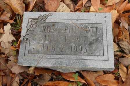 PHILPOTT, ROSA - Howell County, Missouri | ROSA PHILPOTT - Missouri Gravestone Photos