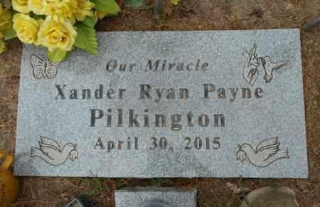 PILKINGTON, XANDER RYAN PAYNE - Howell County, Missouri | XANDER RYAN PAYNE PILKINGTON - Missouri Gravestone Photos