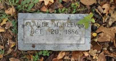 REEVES, CLAUDE M. - Howell County, Missouri   CLAUDE M. REEVES - Missouri Gravestone Photos