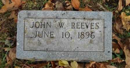 REEVES, JOHN W. - Howell County, Missouri | JOHN W. REEVES - Missouri Gravestone Photos