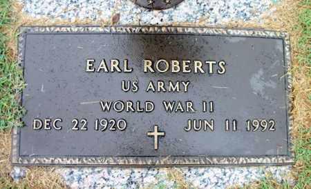 ROBERTS, EARL VETERAN WWII - Howell County, Missouri | EARL VETERAN WWII ROBERTS - Missouri Gravestone Photos