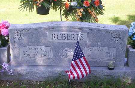 ROBERTS, GRANVILLE BILL - Howell County, Missouri | GRANVILLE BILL ROBERTS - Missouri Gravestone Photos