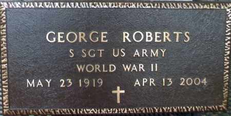 ROBERTS, GEORGE VETERAN WWII - Howell County, Missouri | GEORGE VETERAN WWII ROBERTS - Missouri Gravestone Photos