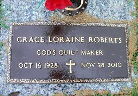 ROBERTS, GRACE LORAINE - Howell County, Missouri | GRACE LORAINE ROBERTS - Missouri Gravestone Photos