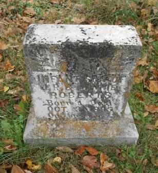 ROBERTS, INFANT SON - Howell County, Missouri | INFANT SON ROBERTS - Missouri Gravestone Photos