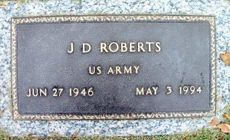 ROBERTS, J. D. VETERAN - Howell County, Missouri | J. D. VETERAN ROBERTS - Missouri Gravestone Photos