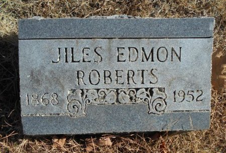 ROBERTS, JILES EDMON - Howell County, Missouri | JILES EDMON ROBERTS - Missouri Gravestone Photos