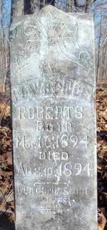 ROBERTS, LAWRENCE - Howell County, Missouri | LAWRENCE ROBERTS - Missouri Gravestone Photos