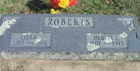 ROBERTS, HUBERT L. - Howell County, Missouri   HUBERT L. ROBERTS - Missouri Gravestone Photos