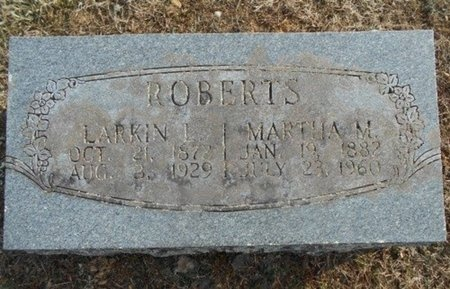 ROBERTS, LARKIN L. - Howell County, Missouri | LARKIN L. ROBERTS - Missouri Gravestone Photos