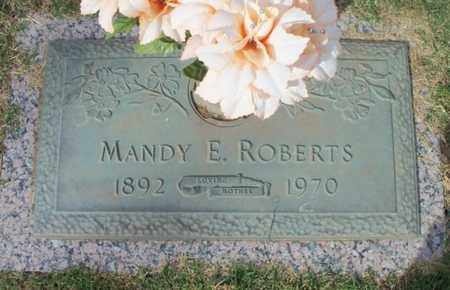 ROBERTS, MANDY E. - Howell County, Missouri | MANDY E. ROBERTS - Missouri Gravestone Photos