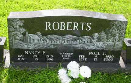 ROBERTS, NANCY P - Howell County, Missouri | NANCY P ROBERTS - Missouri Gravestone Photos