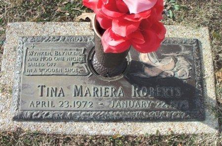 ROBERTS, TINA MARIERA - Howell County, Missouri | TINA MARIERA ROBERTS - Missouri Gravestone Photos