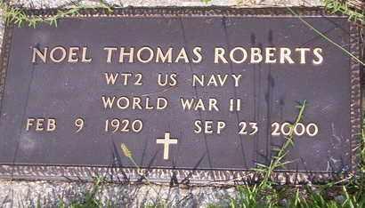 ROBERTS, NOEL THOMAS VETERAN WAR WORLD II - Howell County, Missouri | NOEL THOMAS VETERAN WAR WORLD II ROBERTS - Missouri Gravestone Photos