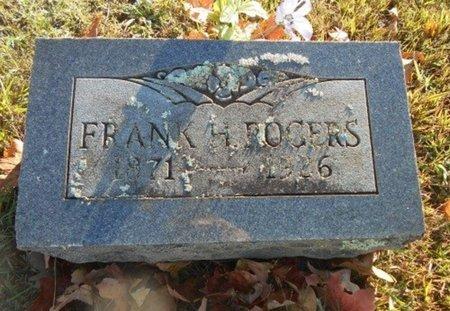 ROGERS, FRANK HORACE - Howell County, Missouri | FRANK HORACE ROGERS - Missouri Gravestone Photos