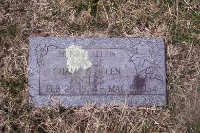ROGERS, HENRY - Howell County, Missouri | HENRY ROGERS - Missouri Gravestone Photos